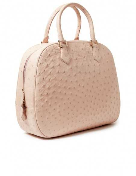 Catherine Satchel Ostrich Bag color of your choice