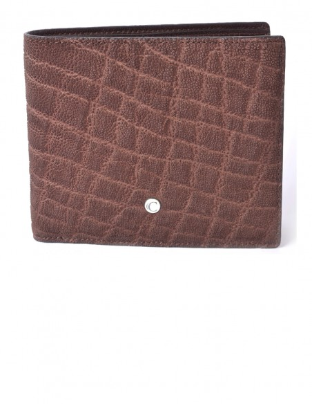 Men's Square Elephant BiFold Wallet