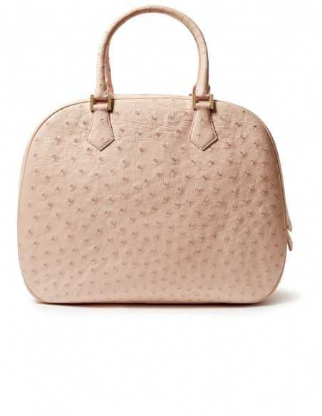 Ostrich Crossbody Bag for Woman