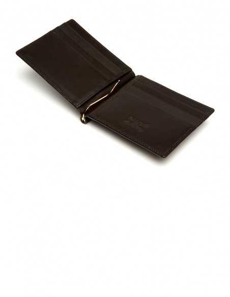 Brown Elephant Moneyclip Wallet