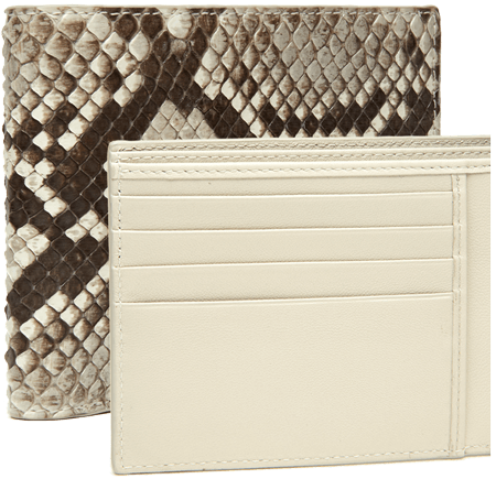 Diamond Rock Python Men's Horizontal Wallet