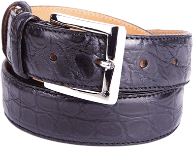 Formal Alligator Flank Men's Belt