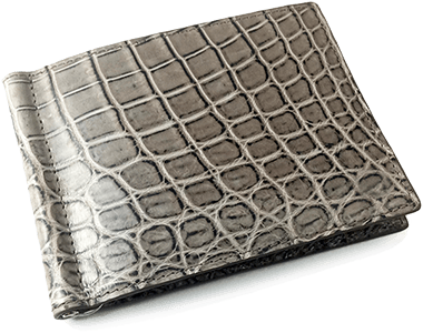 Alligator Compact Money Clip Smart Wallet