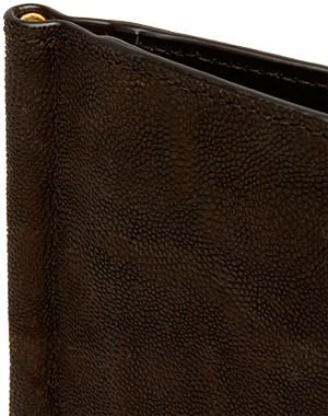 Slim Wallet made of Genuine Elephant Leather