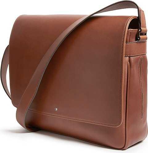 Barenia Calf Contemporary Messenger Bag