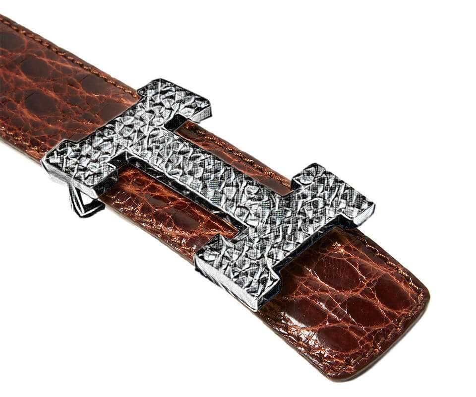 Leather Belt Straps for Any Designer Buckle