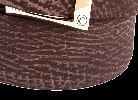 Hippopotamus Skin Detail on Belt