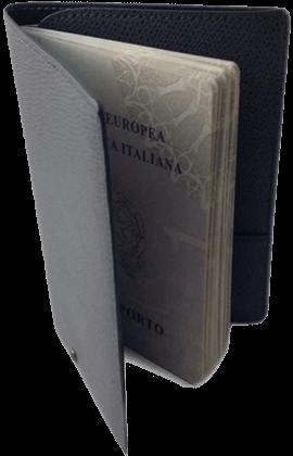 Calfskin Passport Holder with RFID