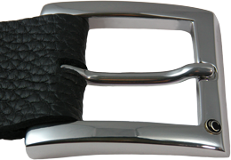 Shiny Silver Formal Buckle